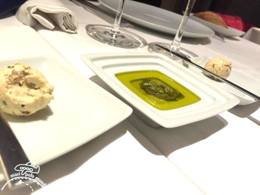 Restaurante Brac em Braga, Portugal - Couvert
