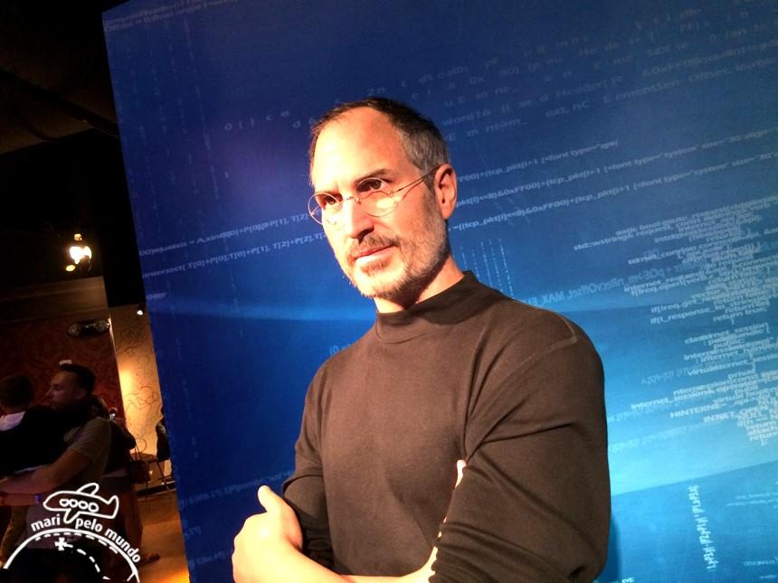 Steve Jobs - Museu Madame Tussauds em Orlando