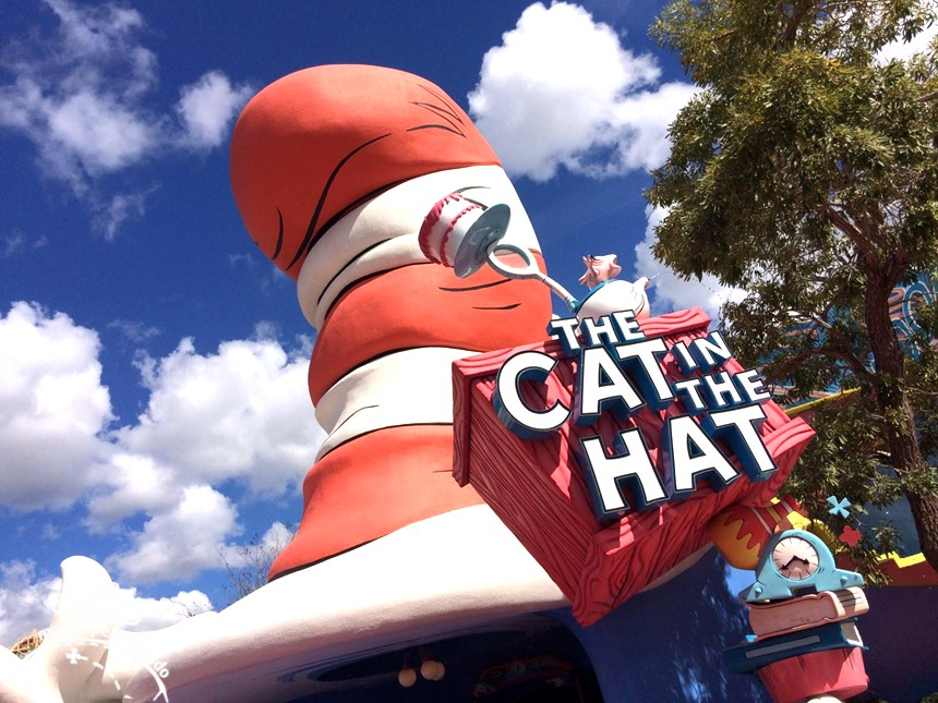 The cat and the hat