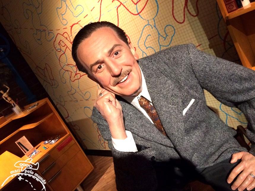 Walt Disney - Museu Madame Tussauds em Orlando