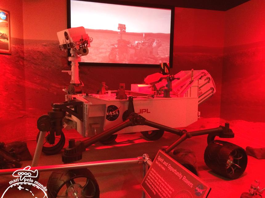 Robos em Marte