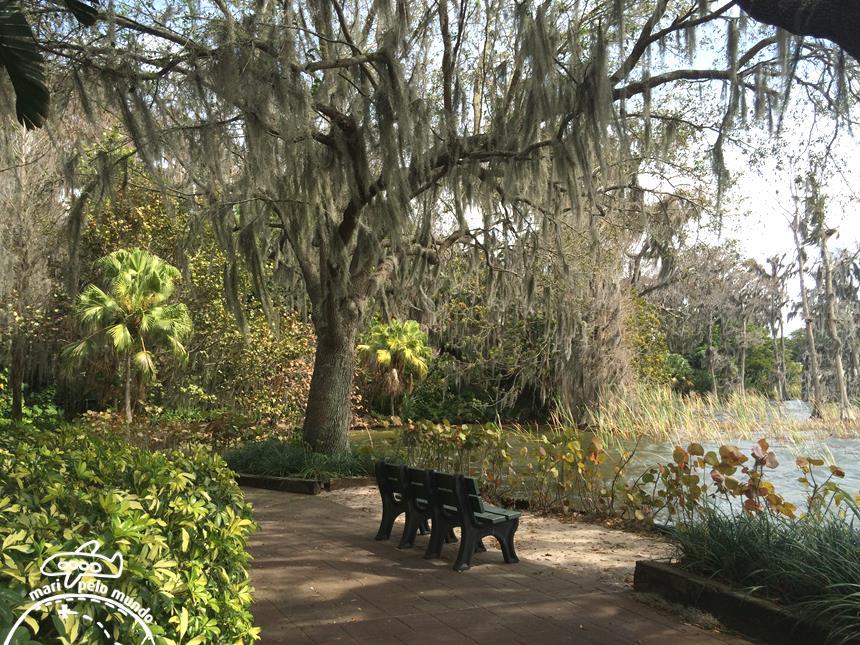 Cypress Garden e Lago