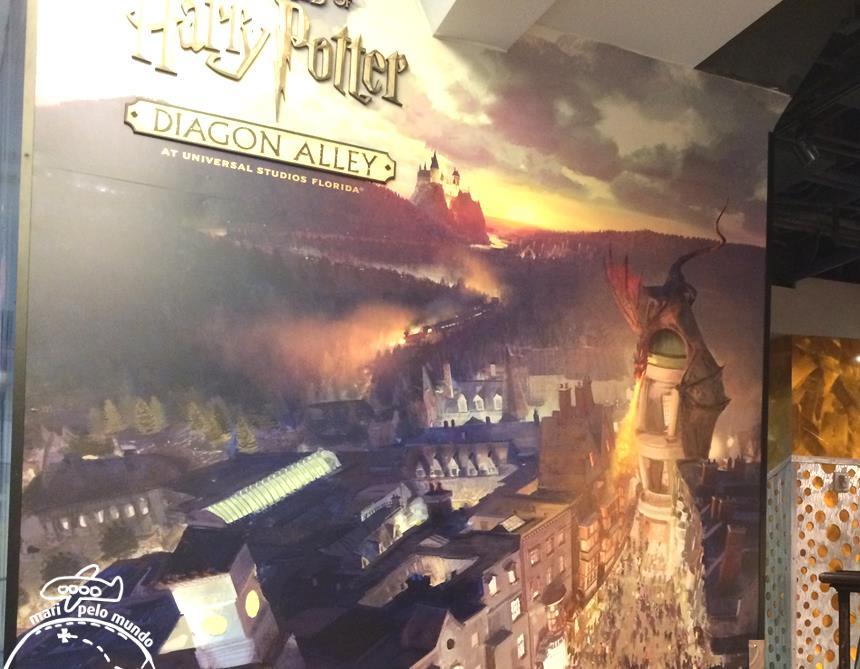 1 - Cartaz Harry Potter no Universal