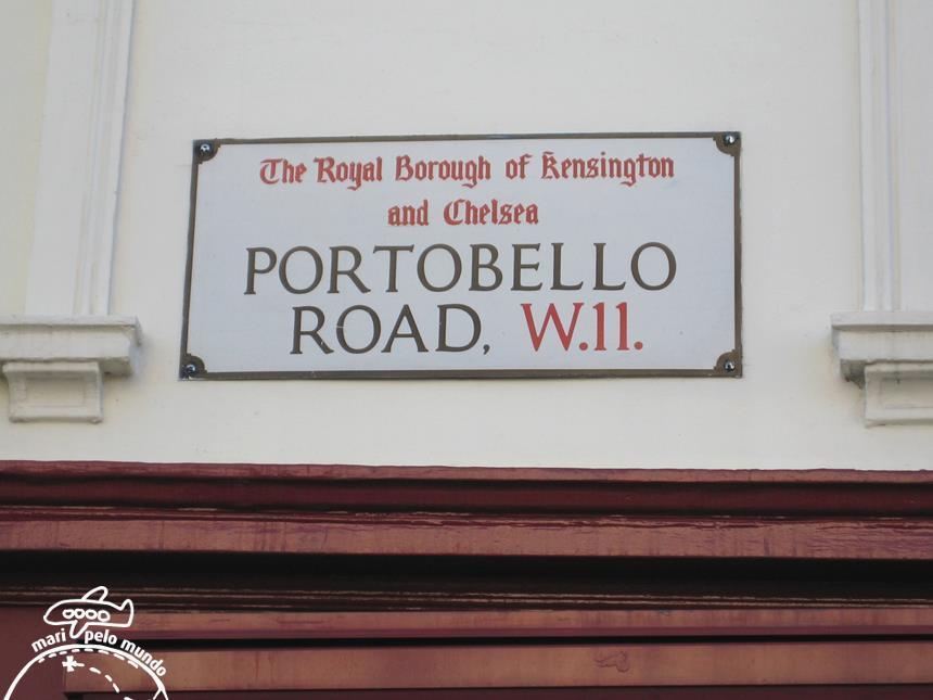 Portobello Rd Notting Hill