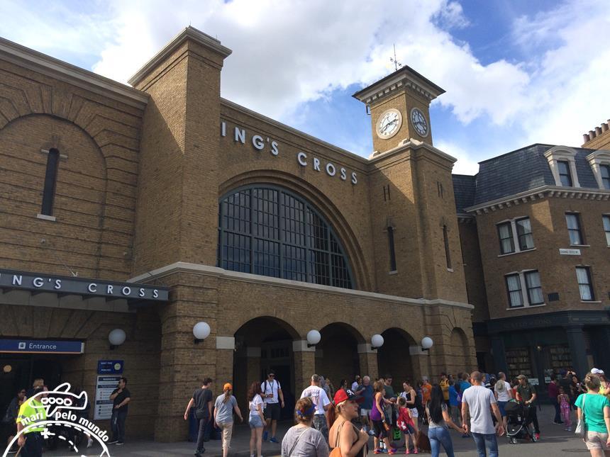 19 - Estacao de Kings Cross Londres