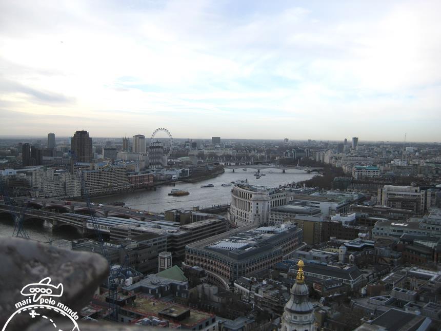 Vista de Londres - The Monument