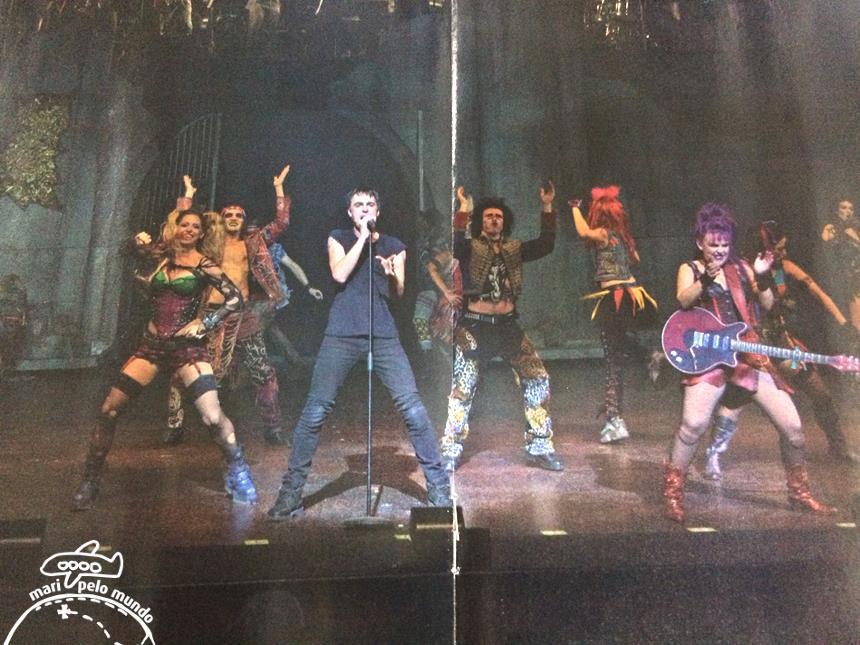 Elenco - foto do guia do musical