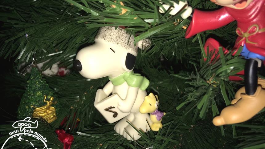 Snoopy de Natal