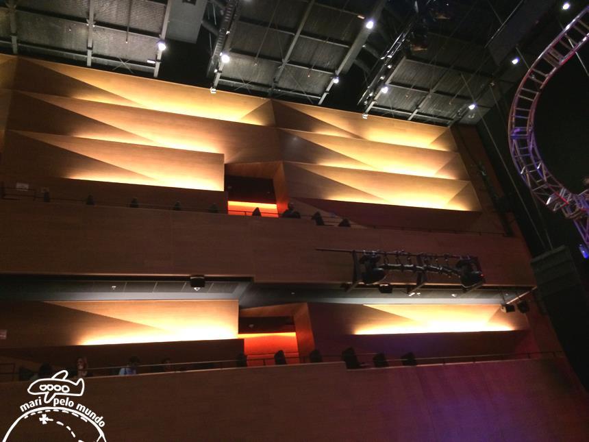 Interior do teatro - balcao