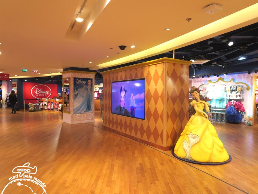 Area da Disney na Galeries Lafayette (3)