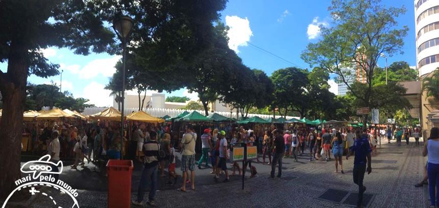 Feira de domingo de Belo Horizonte