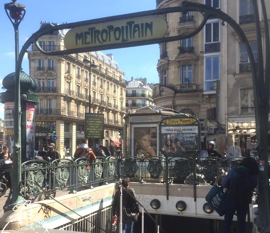Metro em Paris