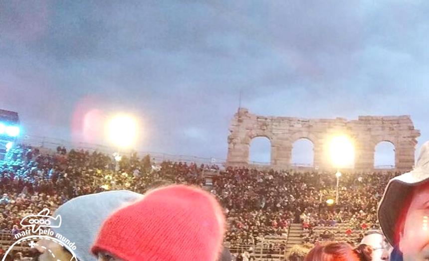 Arena no show 2Cellos