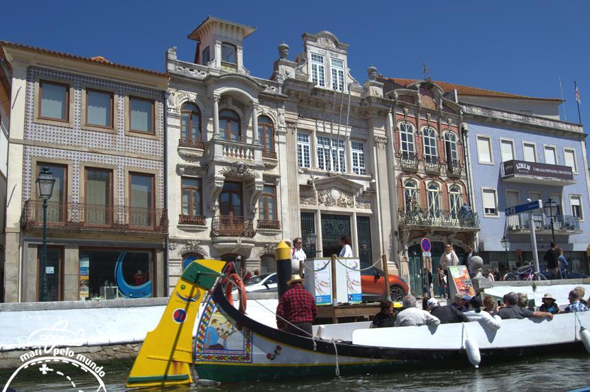 Aveiro - Canal central - central de turismo