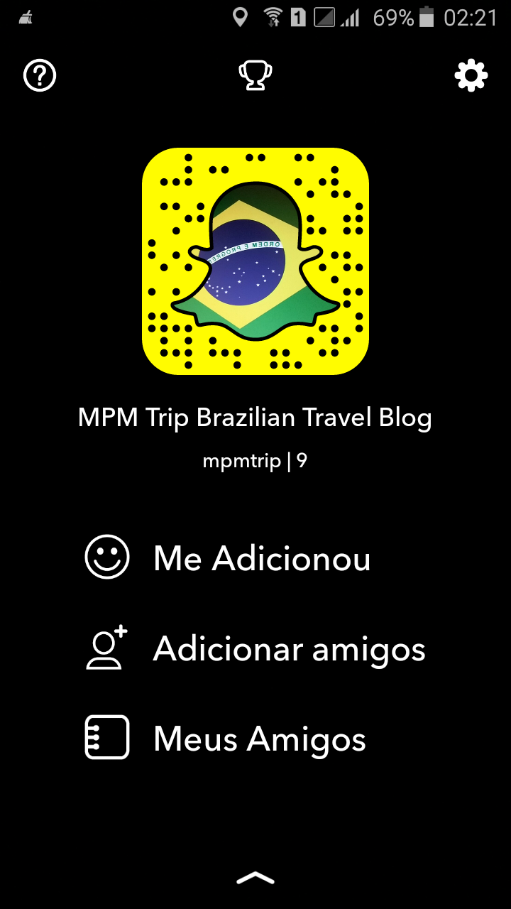Brazilian Snapchat in English