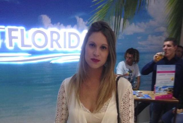 Lounge da Visit Florida na SPFW 41