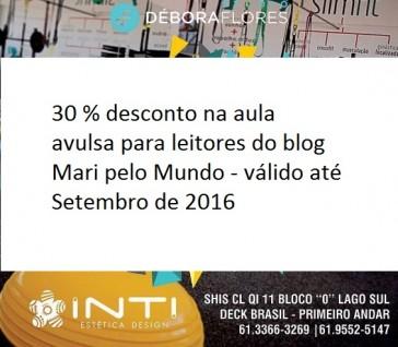 Desconto para os leitores no Studio Débora Flores em Brasília