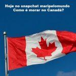 Snapchat de Brasileiros no Canadá