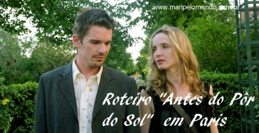 Filmes e viagens: Before Sunset  Antes do Pôr-do-Sol