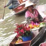 Tailândia: Mercado Flutuante de Bangkok