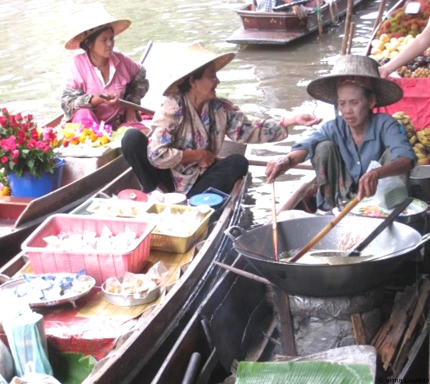 Mercado flutuante (4)