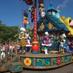 Paradas na Disneyland Paris