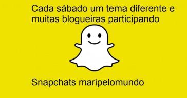 Snapchat de viagem temático aos sábados
