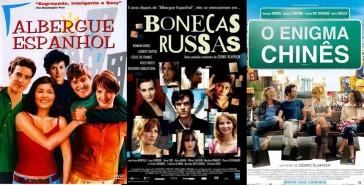 A trilogia do Albergue Espanhol: Barcelona, Paris e Nova Iorque