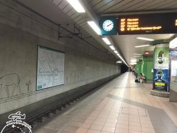 2 - Estacao do metro U-Bahn linha 7