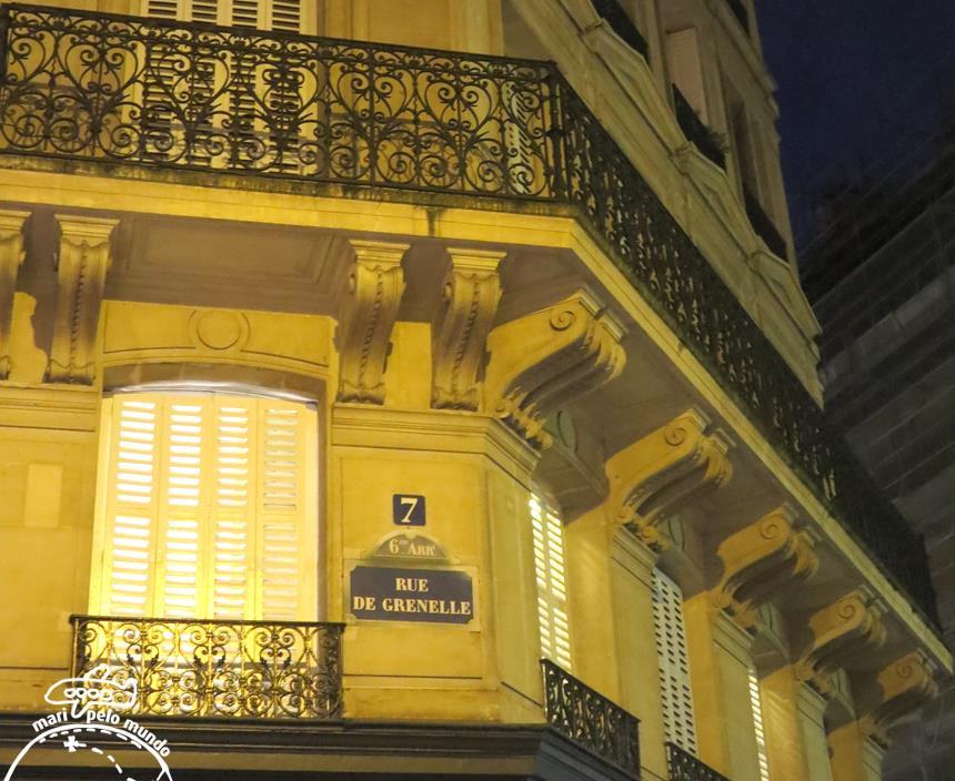 Rue de Grenelle numero 7