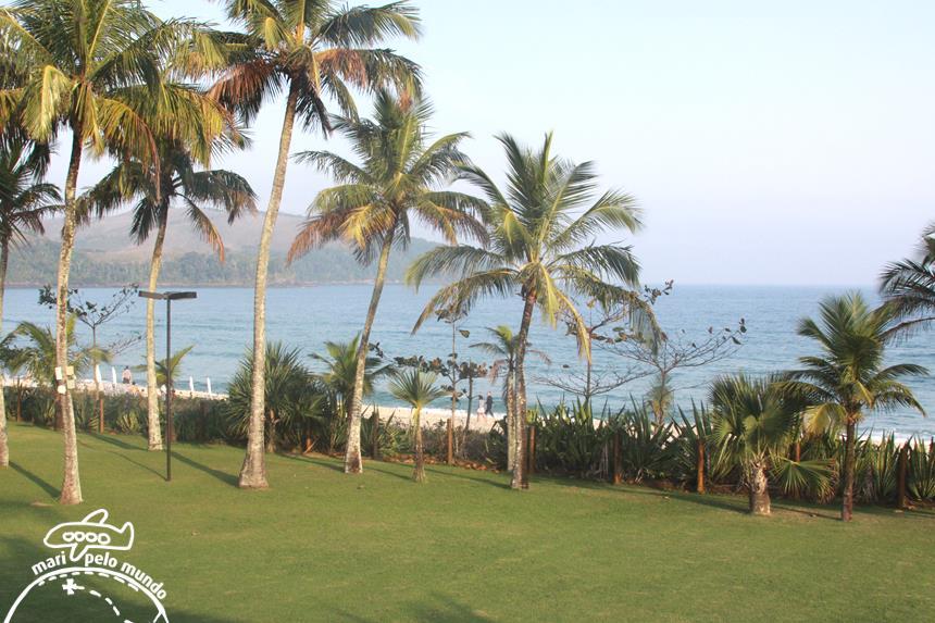 A vista do quarto do hotel