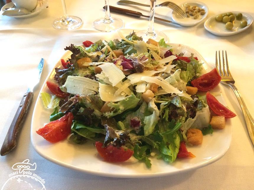 4 - Salada no La Tagliatella (Copy)