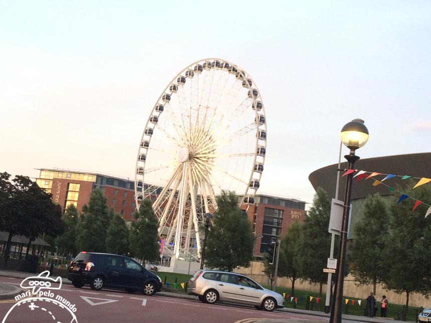 Echo Wheel - a roda gigante no pier