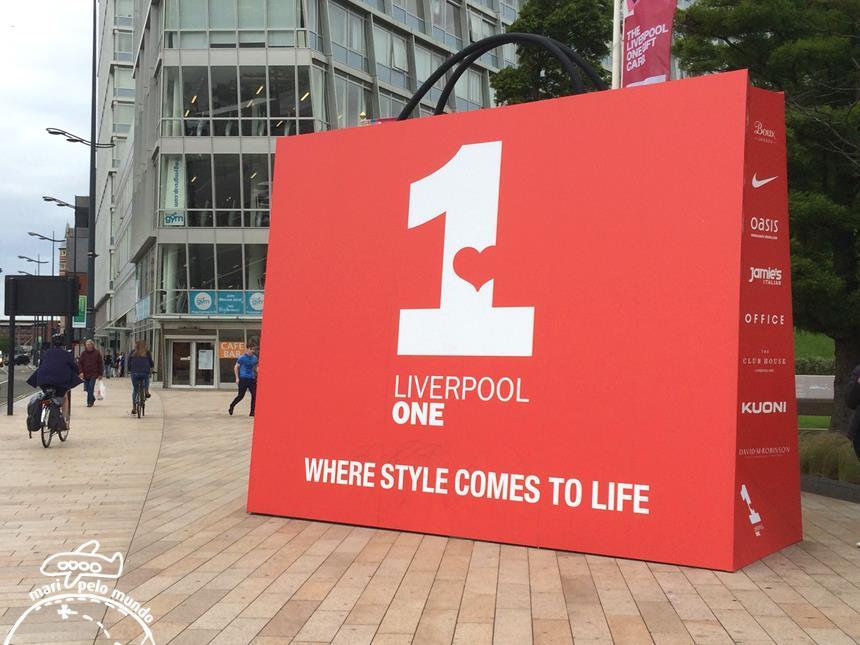 Liverpool One - compras e lazer