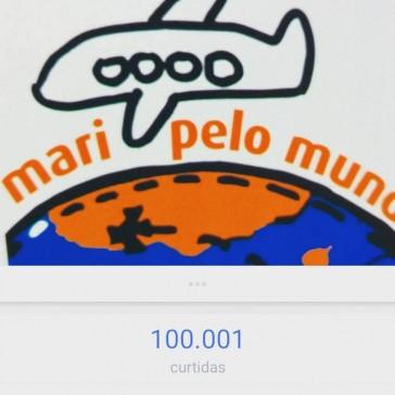 100.000 seguidores no Facebook!!!