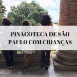 Pinacoteca de São Paulo com criança