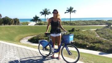Passeio de Bike por Miami Beach