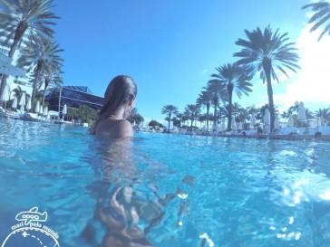 Uma piscina dos sonhos em Miami
