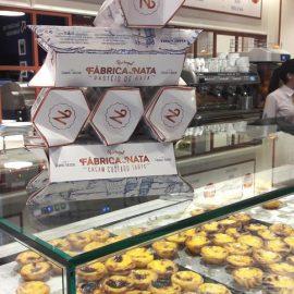 Experimentando os pastéis de nata: Fábrica de nata
