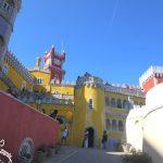 Visitando o Palácio da Pena com crianças