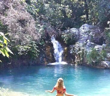 A cachoeira queridinha do Brasil: a Santa Bárbara!!!