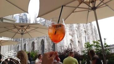 Melhor vista do Duomo de Milão: Terraço Aperol