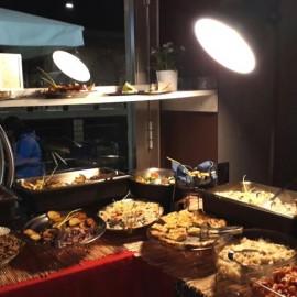 Aperitivo Milanês para vegetarianos
