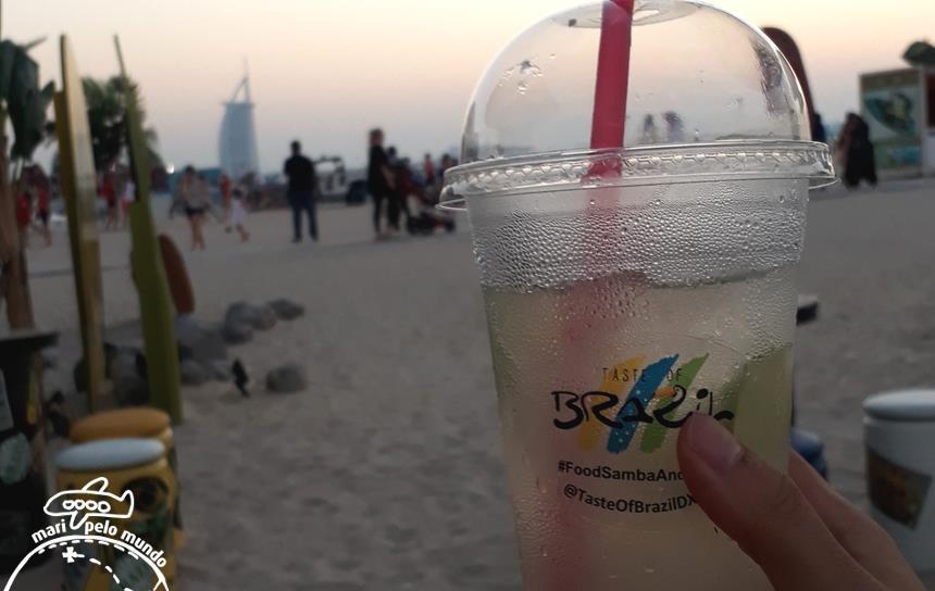 Comidinhas brasileiras em Dubai