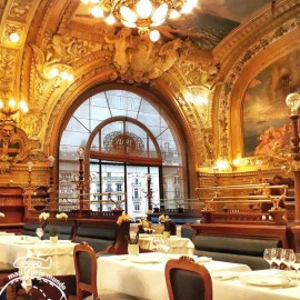 Le train bleu na Gare de Lyon: Um restaurante monumento histórico