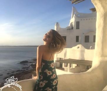 Por do Sol em Punta del Este e a famosa Casapueblo