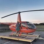 Como é o passeio de helicóptero em Nova York