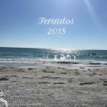 Os feriados de 2018 – Para planejar viagens e passeios