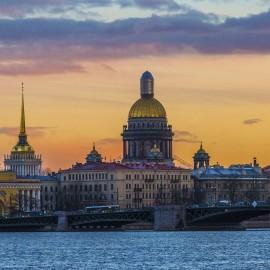 Um roteiro à pé em São Petersburgo