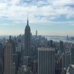 Empire State e Top of the Rock em Nova York